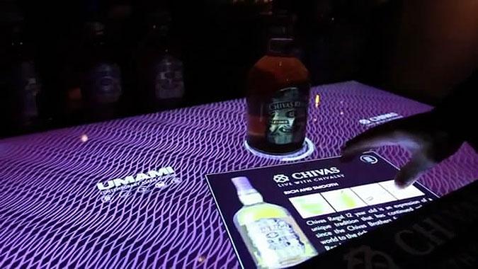 芝华士威士忌互动桌面图片