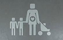 沃尔沃汽车伦敦骄傲周公益营销 家庭停车标志